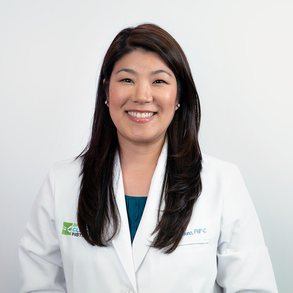 Breathe Clear Institute Nurse Practitioner Trisha Tsuno