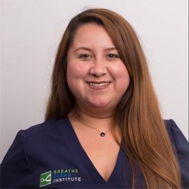 Breathe Clear Institute employee Wendy Bonilla